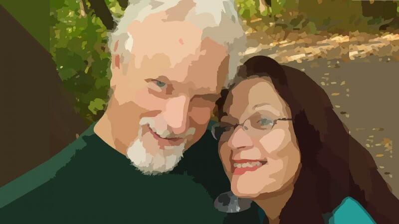 元気な高齢者夫婦